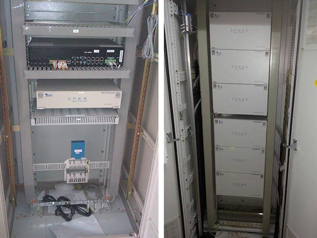 河北换流站采用光纤配线箱及配套产品