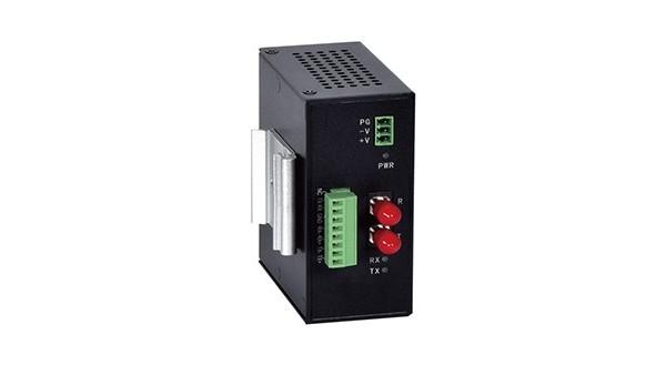 单通道串口光纤调制解调器(卡轨式)
