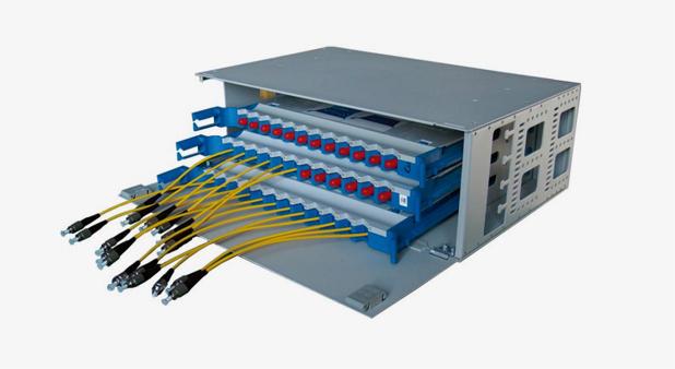12-96芯1U-6U光纤配线箱(直熔配型)