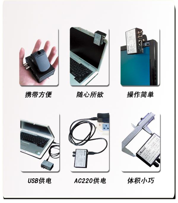 夹持式光纤收发器COE7001J-COE7011J特点